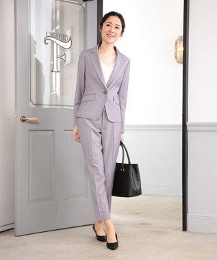 any SiS 【洗える】T/Rウォッシャブルスーツ パンツ ライトグレー系1