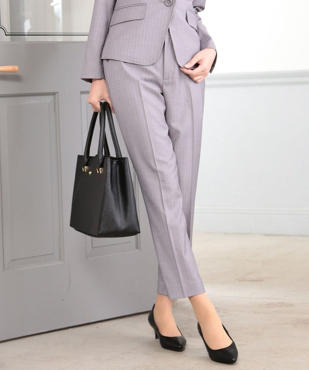 any SiS 【洗える】T/Rウォッシャブルスーツ パンツ