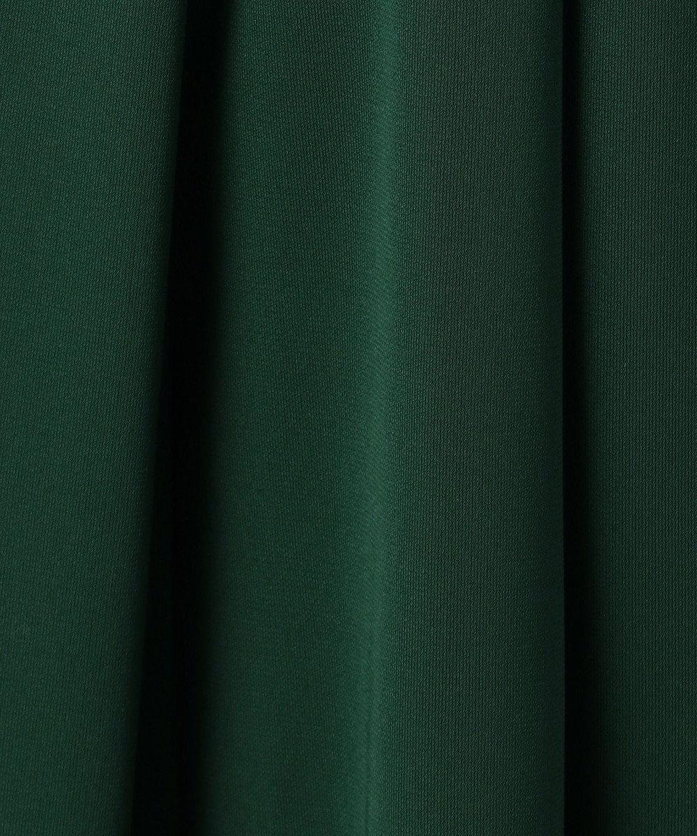 any SiS 【新色追加】エアリードレープスムース ガウチョパンツ ダークグリーン系