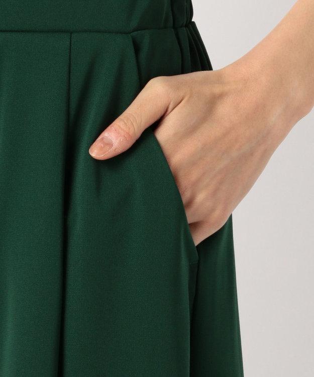 any SiS 【新色追加】エアリードレープスムース ガウチョパンツ