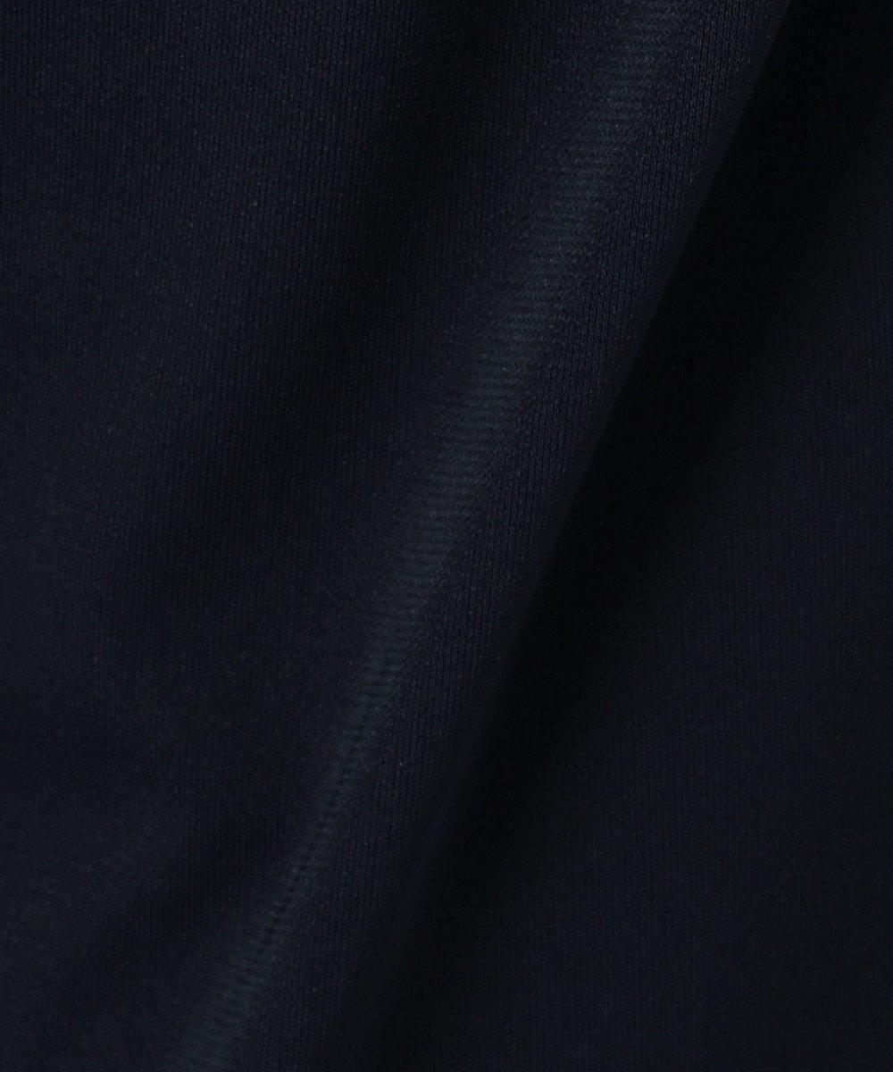 any SiS 【速乾・接触冷感】エアリードレープスムース ワイドパンツ ネイビー系