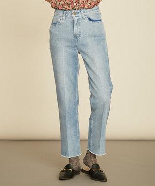 組曲 【Rythme KUMIKYOKU】denim パンツ ブルー系