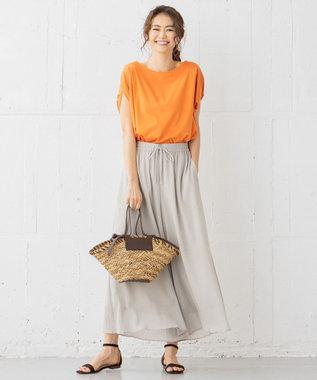組曲 【WEB限定カラーあり】カールマイヤーヨウリュウ パンツ ライトグレー系