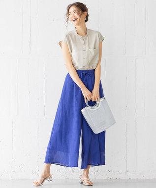 組曲 【WEB限定カラーあり】カールマイヤーヨウリュウ パンツ ブルー系