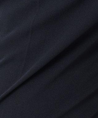 組曲 L 【洗える】コンフォートクールギャバテーパード パンツ ネイビー系