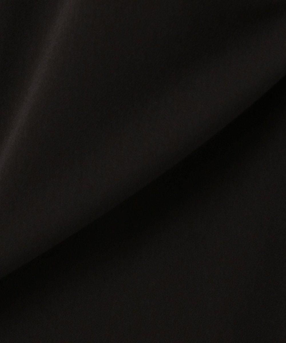 組曲 S 【洗える】トリアセジョーゼット ワイドパンツ ブラック系