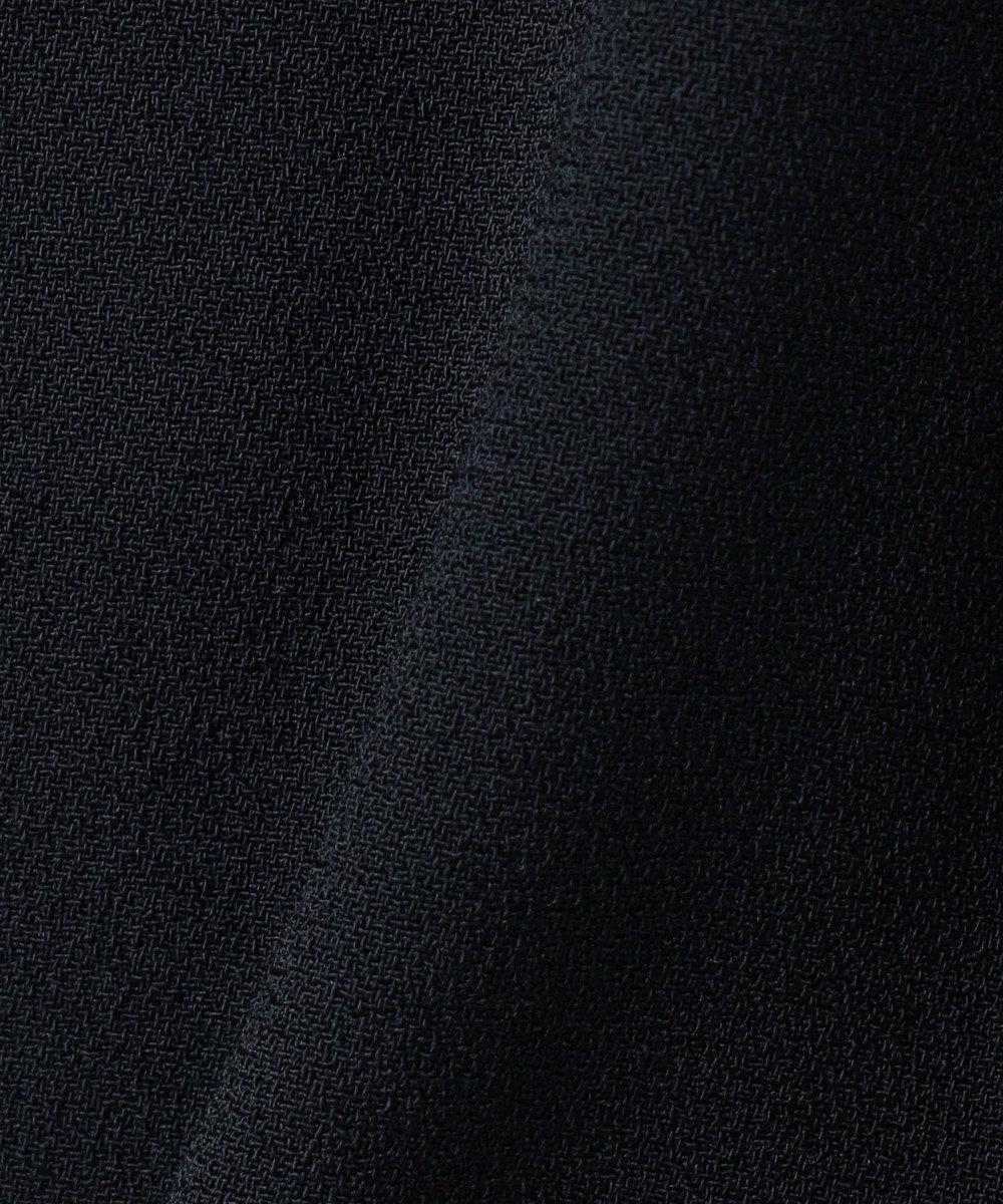 組曲 【Rythme KUMIKYOKU】ハイウェストワイドパンツ ネイビー系