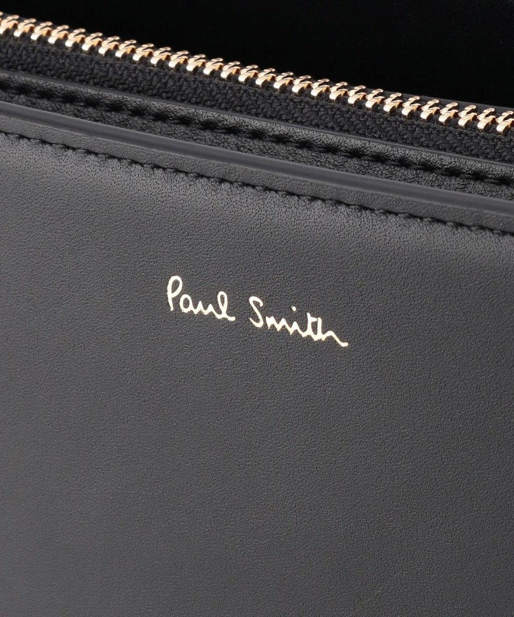 Paul Smith シンプリファイドコンサーティナ ショルダーバッグ ライトグリーン系
