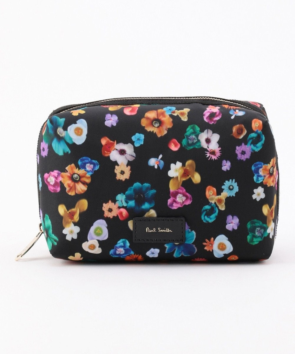 Paul Smith FLORAL RIVER ポーチ ブラック系