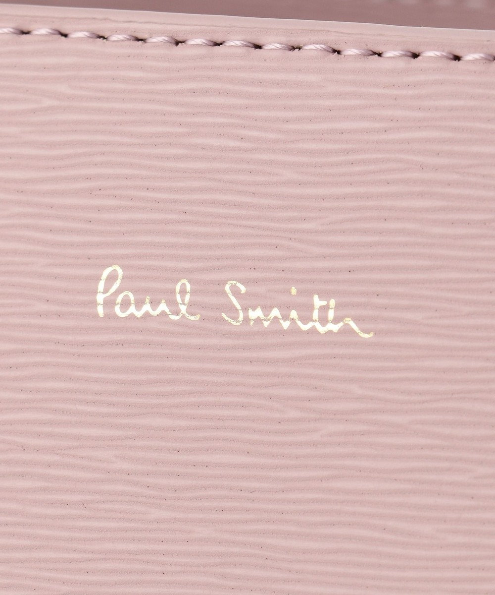 Paul Smith スワールカラーライン トートバッグ オールドローズ系