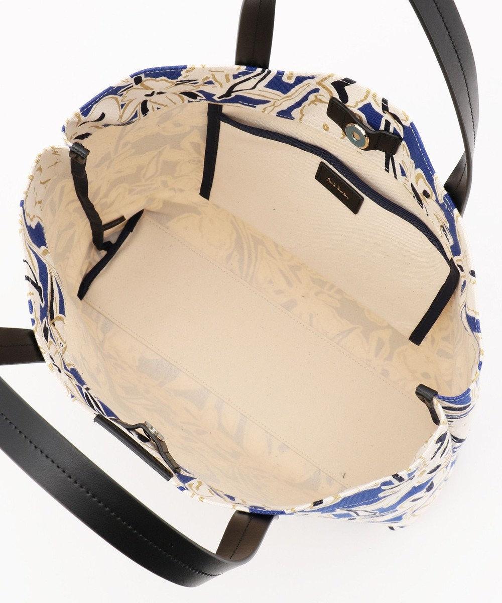 Paul Smith ラッキーフローラル トートバッグ (ラージサイズ) ブルー系