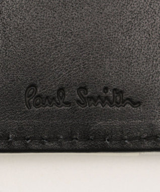 Paul Smith カラーミックスラブレター 2つ折り財布 パープル系