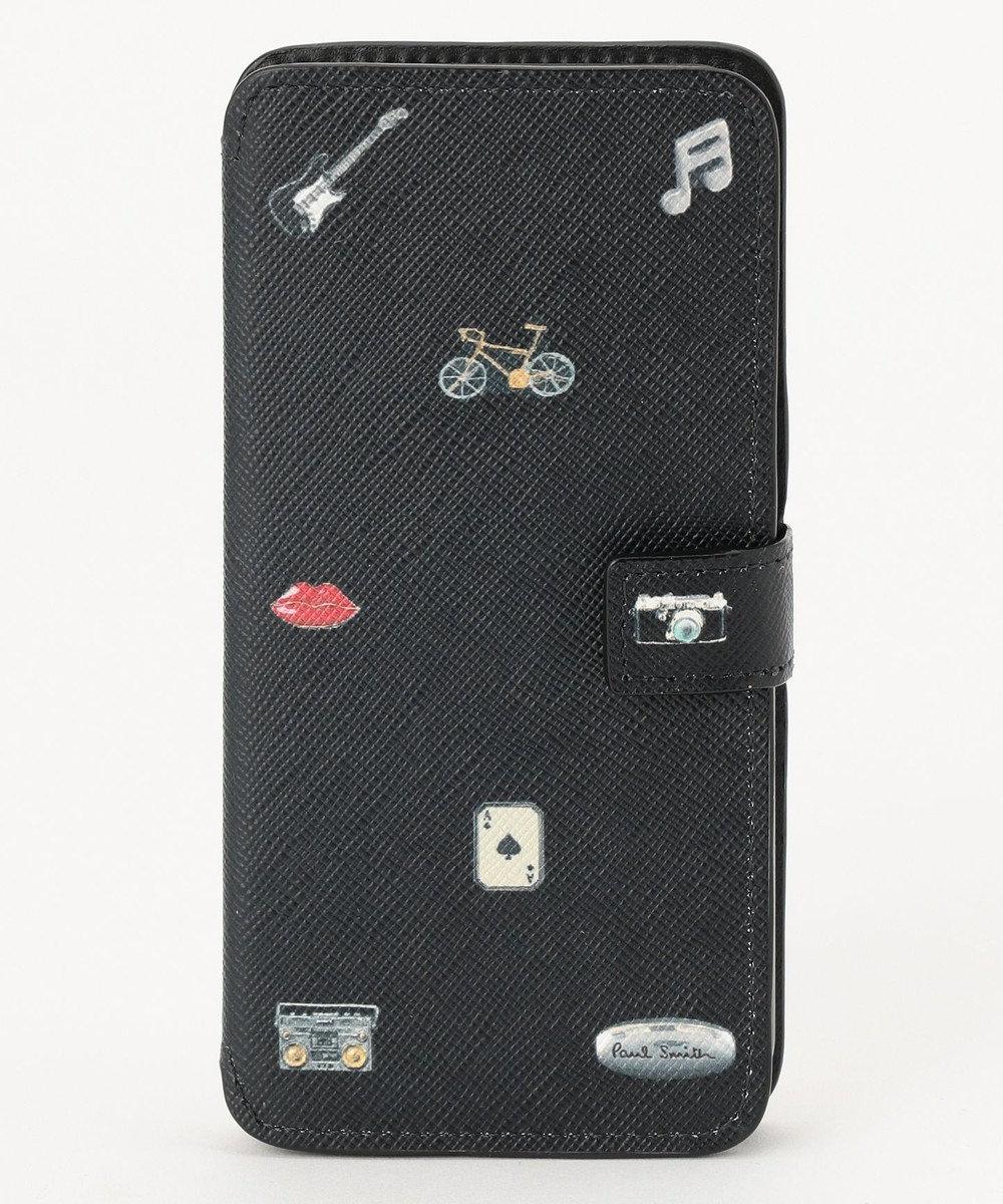 Paul Smith カフリンクプリント iphone6Sケース ブラック系