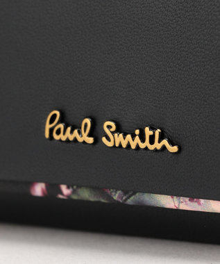 Paul Smith ヘイジーパンジートリム キーケース ブラック系