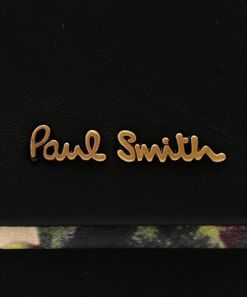 Paul Smith ヘイジーパンジー 2つ折り財布(がま口) ブラック系