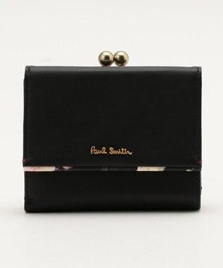 Paul Smith ヘイジーパンジー 2つ折り財布(がま口) ネイビー系