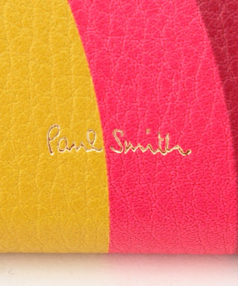 Paul Smith スワール 長財布(がま口) ホワイト系9