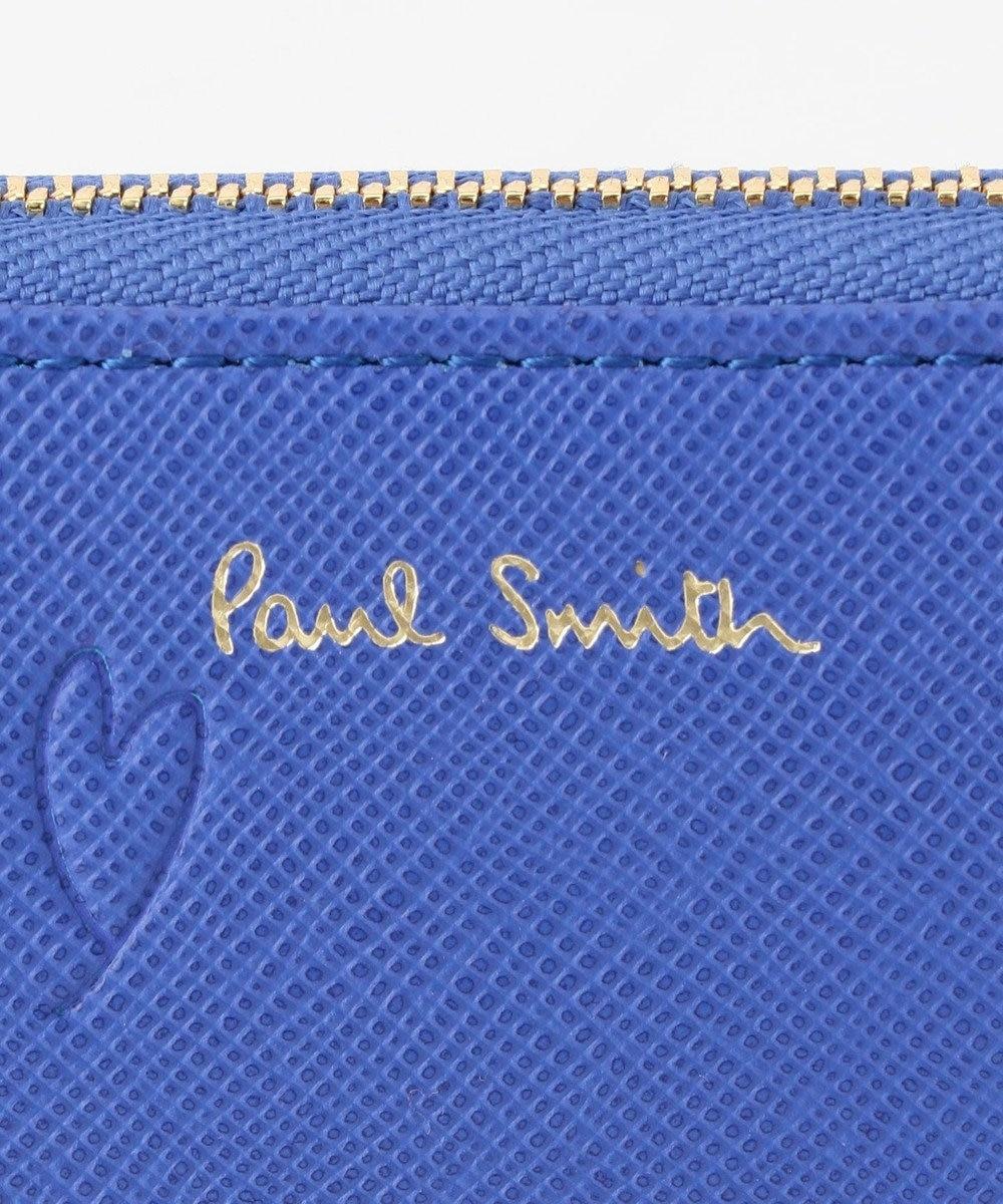 Paul Smith スミシーハート 長財布 ブルー系