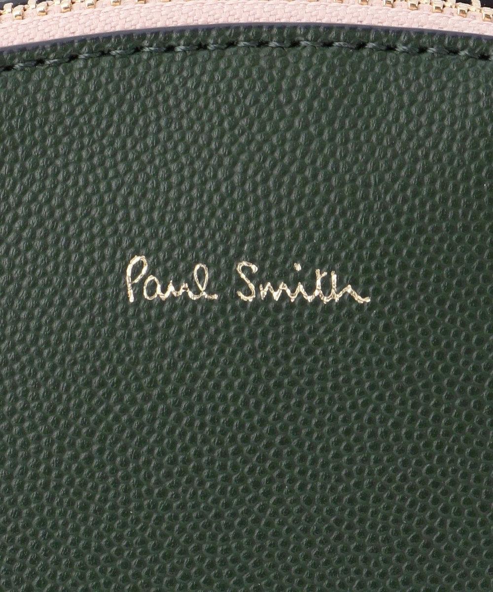 Paul Smith ダブルジップ ショルダーバッグ グリーン系