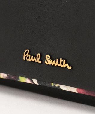 Paul Smith ヘイジーパンジー キーケース ブラック系