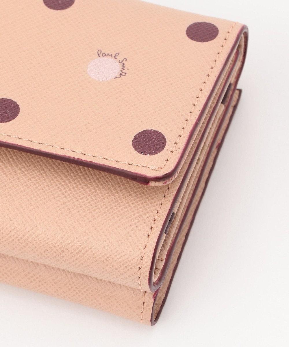 Paul Smith ポルカドット ミニ財布(2つ折り) ピンク系