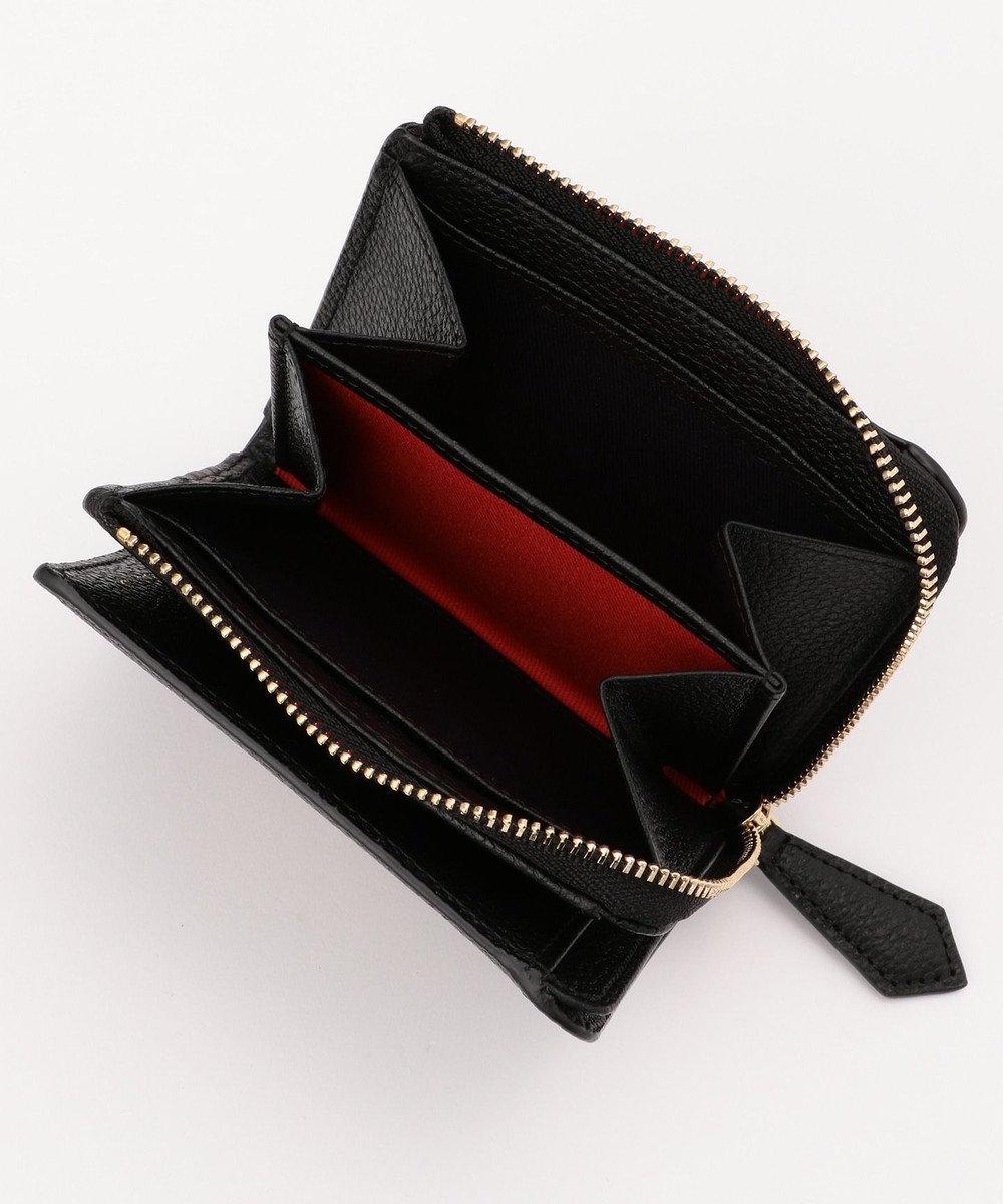 Paul Smith マルチカラーブロック ミニ財布(2つ折り) ブラック系