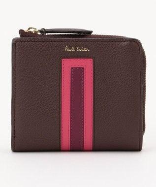 Paul Smith マルチカラーブロック ミニ財布(2つ折り) ワイン系