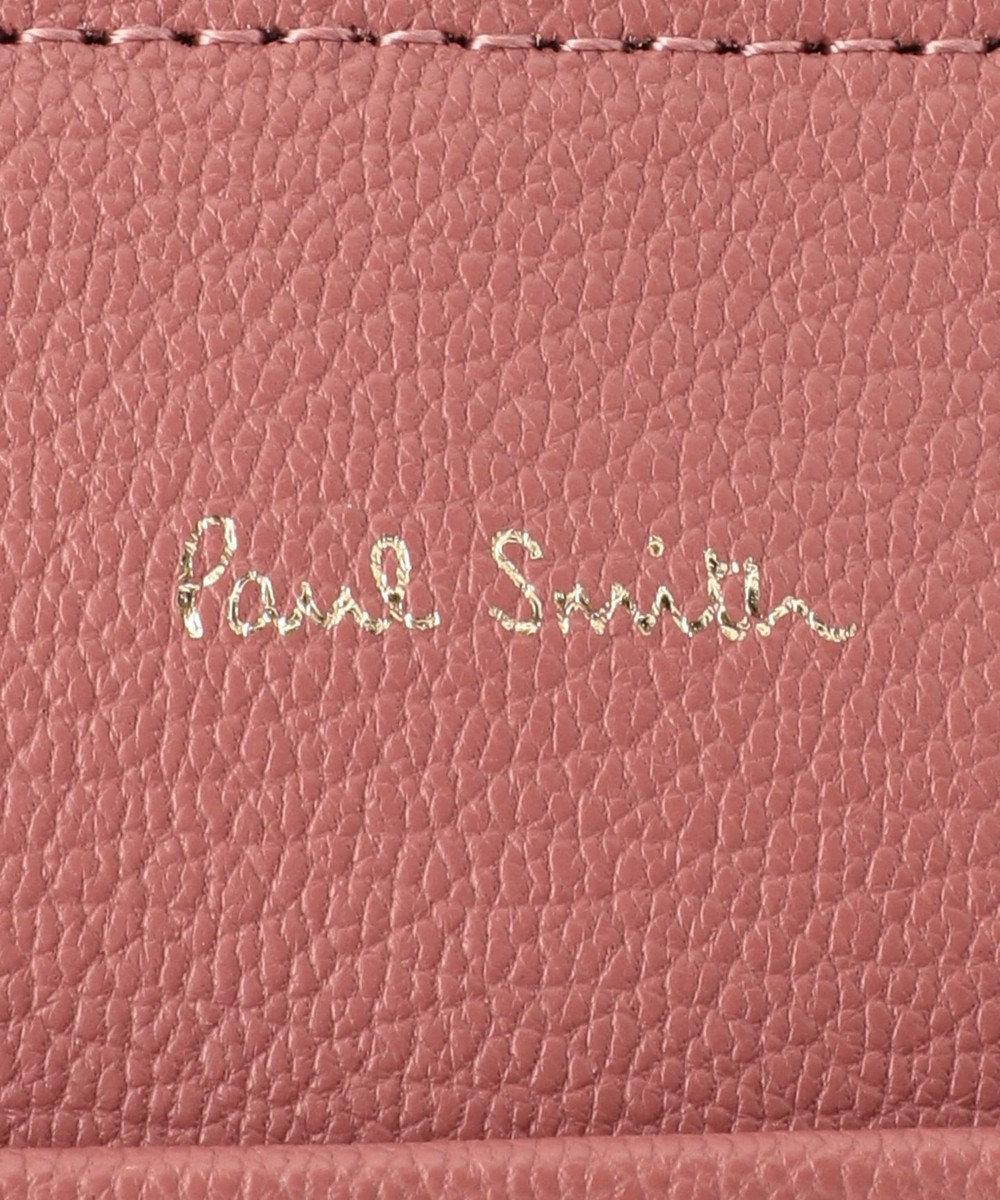 Paul Smith インセットクロスオーバーストライプ ショルダーバッグ ピンク系