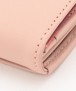 Paul Smith クロスオーバーストライプ カードケース ピンク系