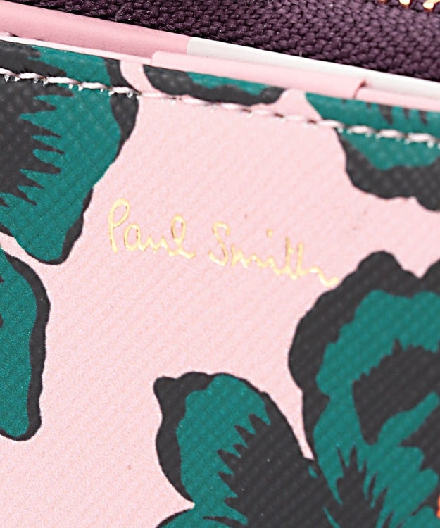 Paul Smith ハワイアンブルーム キーケース ピンク系