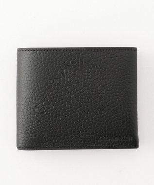 CK CALVIN KLEIN MEN 【大人気】ラップ 財布 (二つ折) ブラック系