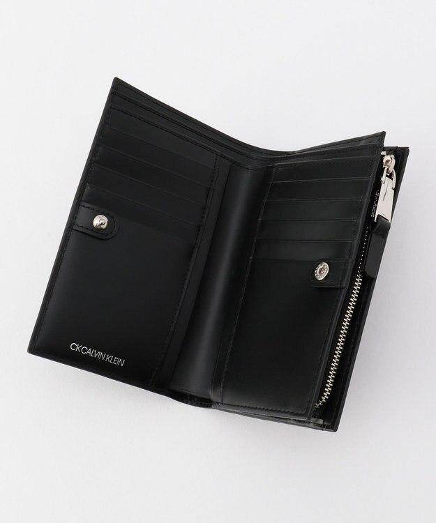 CK CALVIN KLEIN MEN リピート セミ 長財布 (二つ折り)