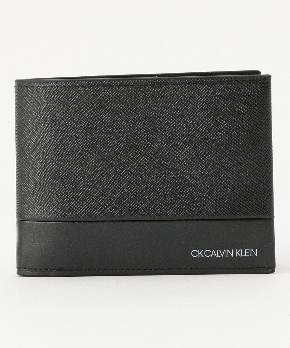 CK CALVIN KLEIN MEN アロイ 財布 (二つ折り) ブラック系