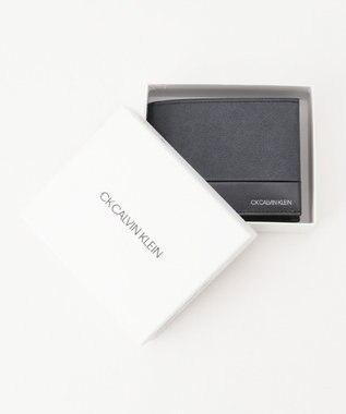 CK CALVIN KLEIN MEN アロイ 財布 (二つ折り) ネイビー系