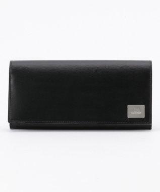 CK CALVIN KLEIN MEN 【大人気】レジンII 長財布 ブラック系