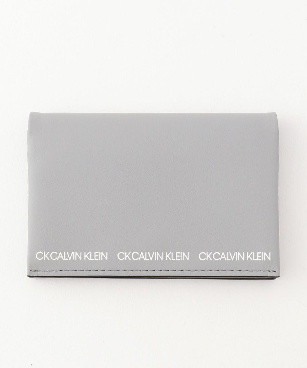 【オンワード】 CK CALVIN KLEIN MEN>財布/小物 【大人気】アンダー 名刺入れ (兼 カードケース) ネイビー F メンズ 【送料無料】