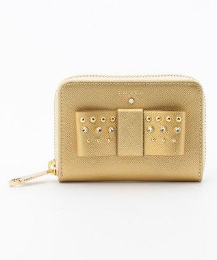 TOCCA 【WEB限定カラー有】RIBBON STUDS SMALL PURSE 財布 ゴールド系