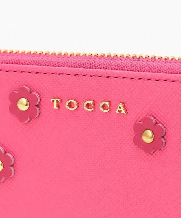 TOCCA FLOWER PETAL ZIP AROUND WALLET 長財布