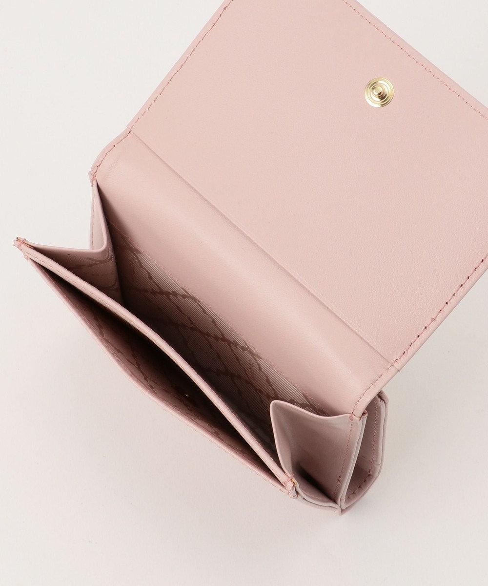 TOCCA 【BAG COLLECTION】CROC RIBBON SMALL PURSE 財布 ピンク系