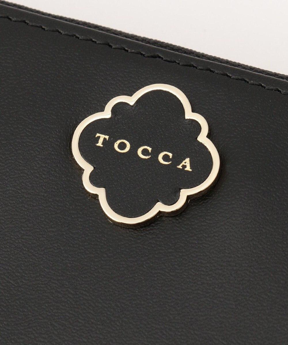 TOCCA HEROINE ZIP AROUND WALLET 長財布 ブラック系