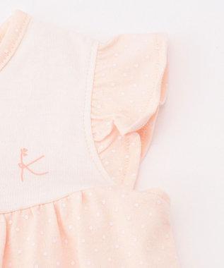 組曲 KIDS ドットプリント ピンク系5
