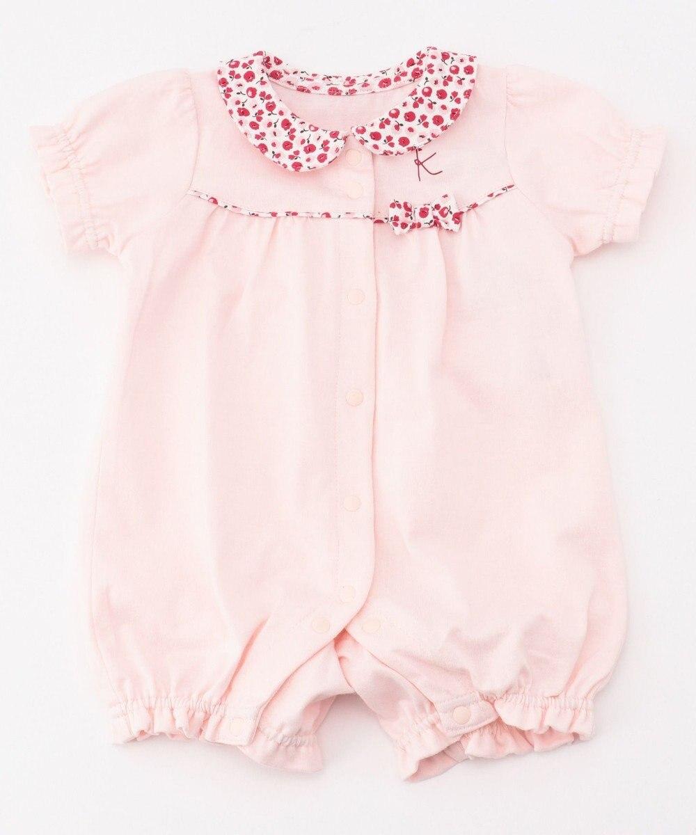 組曲 KIDS 【70cm】スズランプリント ロンパース ピンク系5