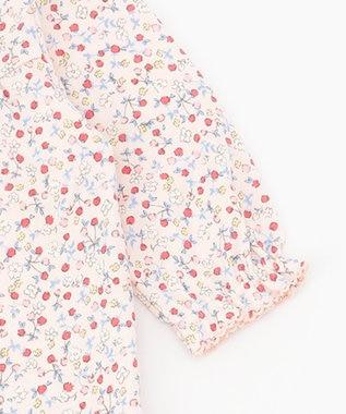 組曲 KIDS 【70cm】ピンクベリー ロンパース ピンク系5