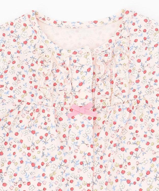 組曲 KIDS 【70cm】ピンクベリー ロンパース