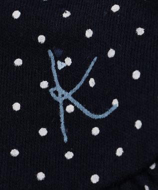 組曲 KIDS 【BABY】40/ースムースドットPT ロンパース ネイビー系5
