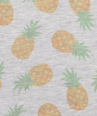 any FAM KIDS 【80-120cm】フルーツ/アニマル 7分丈レギンス グレー系5