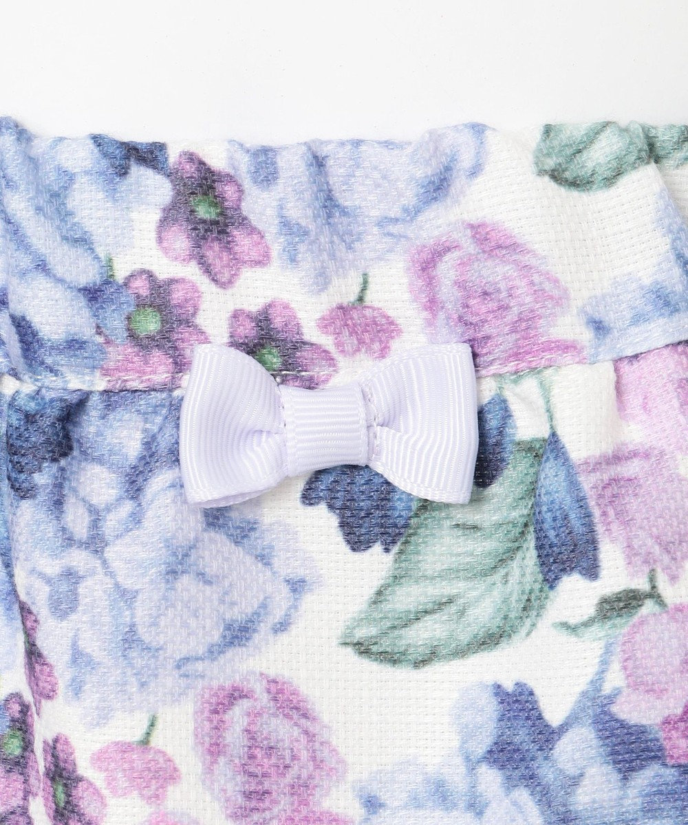 any FAM KIDS 【100-130cm】花柄スカート アイボリー系5