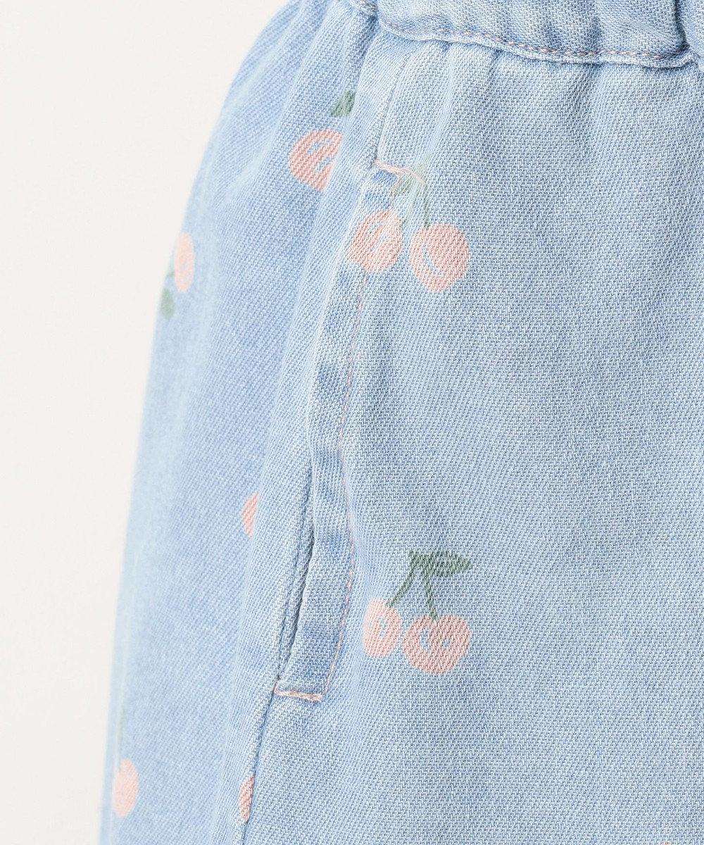 any FAM KIDS 【100~130cm】アジャスター付き ライトオンスデニム ブルー系