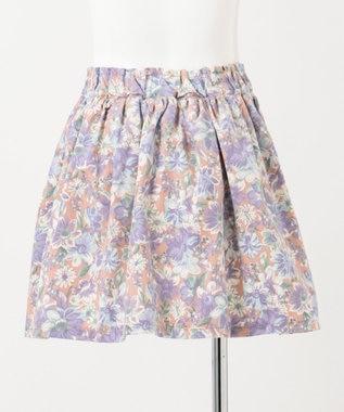 any FAM KIDS 【100‐130cm】花柄スカパン ベージュ系5