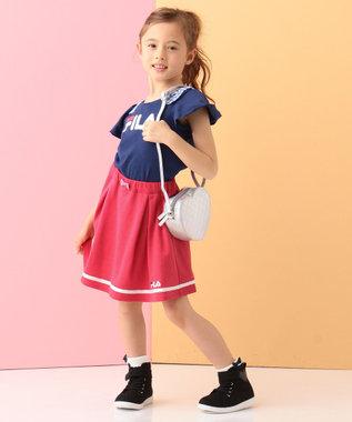 any FAM KIDS 【KIDS】FILA ポンチ スカート レッド系